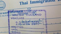 Thailand Immigration Stamp